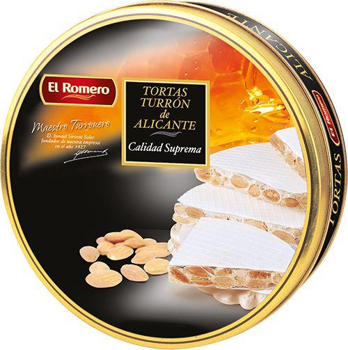 Torta de Alicante bote EL ROMERO Calidad Suprema 600 g x 6 unidades