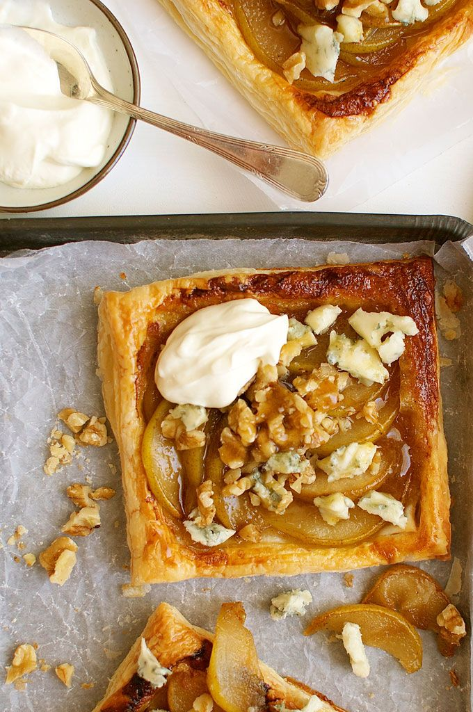 ... Tarts Recipe, Cheese Tarts, Recipetin Eating, Caramel Pears, Pears