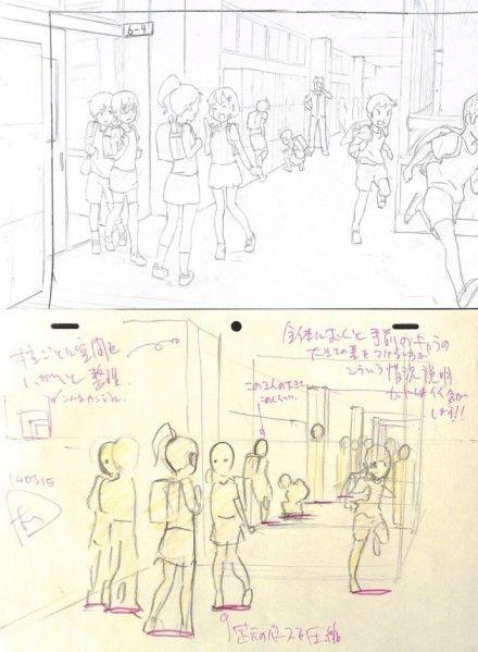 #アニメ私塾搬运#这次是学校走廊的主题