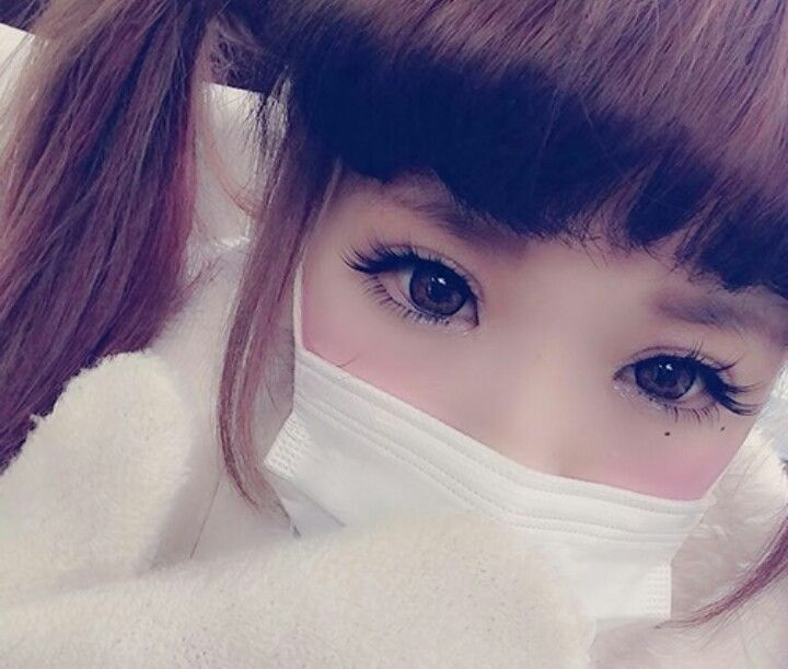Perfect babydoll gyaru eye makeup