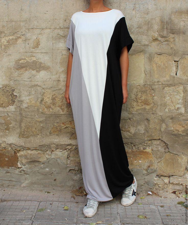 CHERRYBLOSSOMSDRESS Длинное макси платье, кафтан из вискозы
