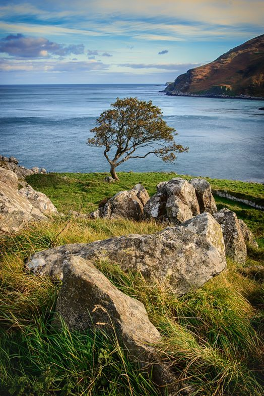 Located in North East County Antrim, Murlough Bay is an awe-inspiring location.