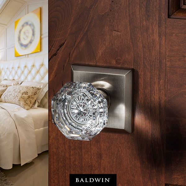Lovely Available In Seven Finishes, The Brilliant Crystal Design Adds A Touch Of  Elegance To Any. Crystal DesignCrystal KnobsBaldwin HardwareDoor ...