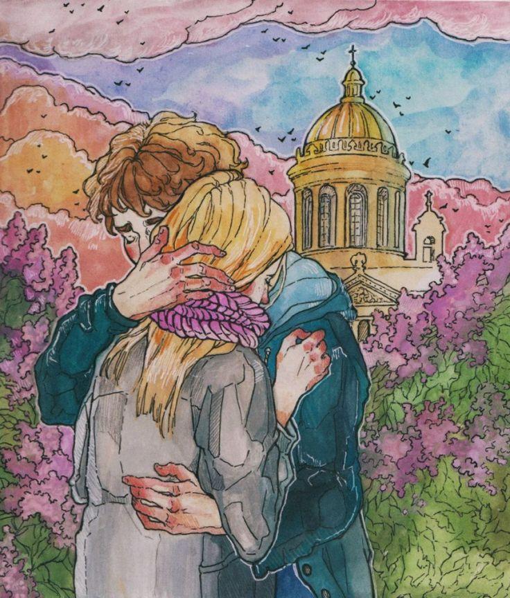 15 теплых иллюстраций с ноткой питерской романтики