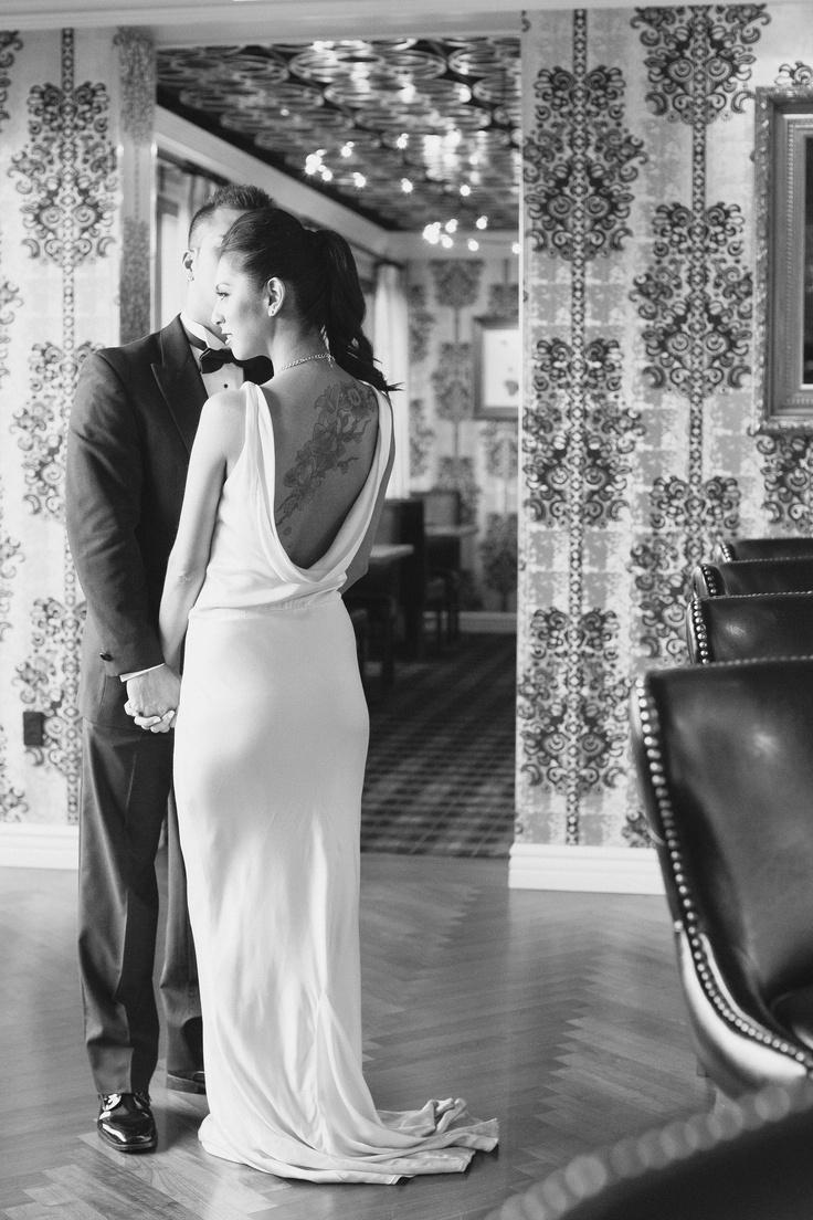Barrymore Las Vegas Wedding, Old Hollywood wedding, glamour wedding, navy and gold wedding