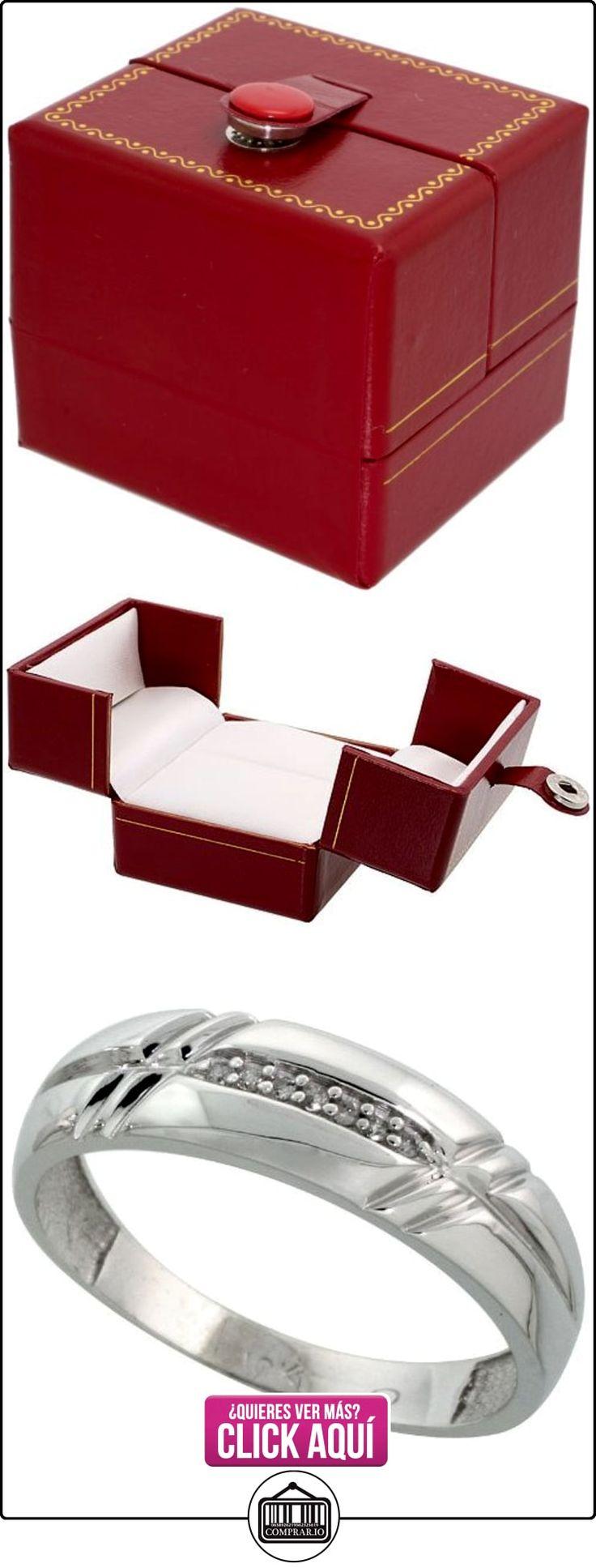 Revoni - Juego de alianzas de oro blanco  ✿ Joyas para hombres especiales - lujo ✿ ▬► Ver oferta: http://comprar.io/goto/B005M31PQ8