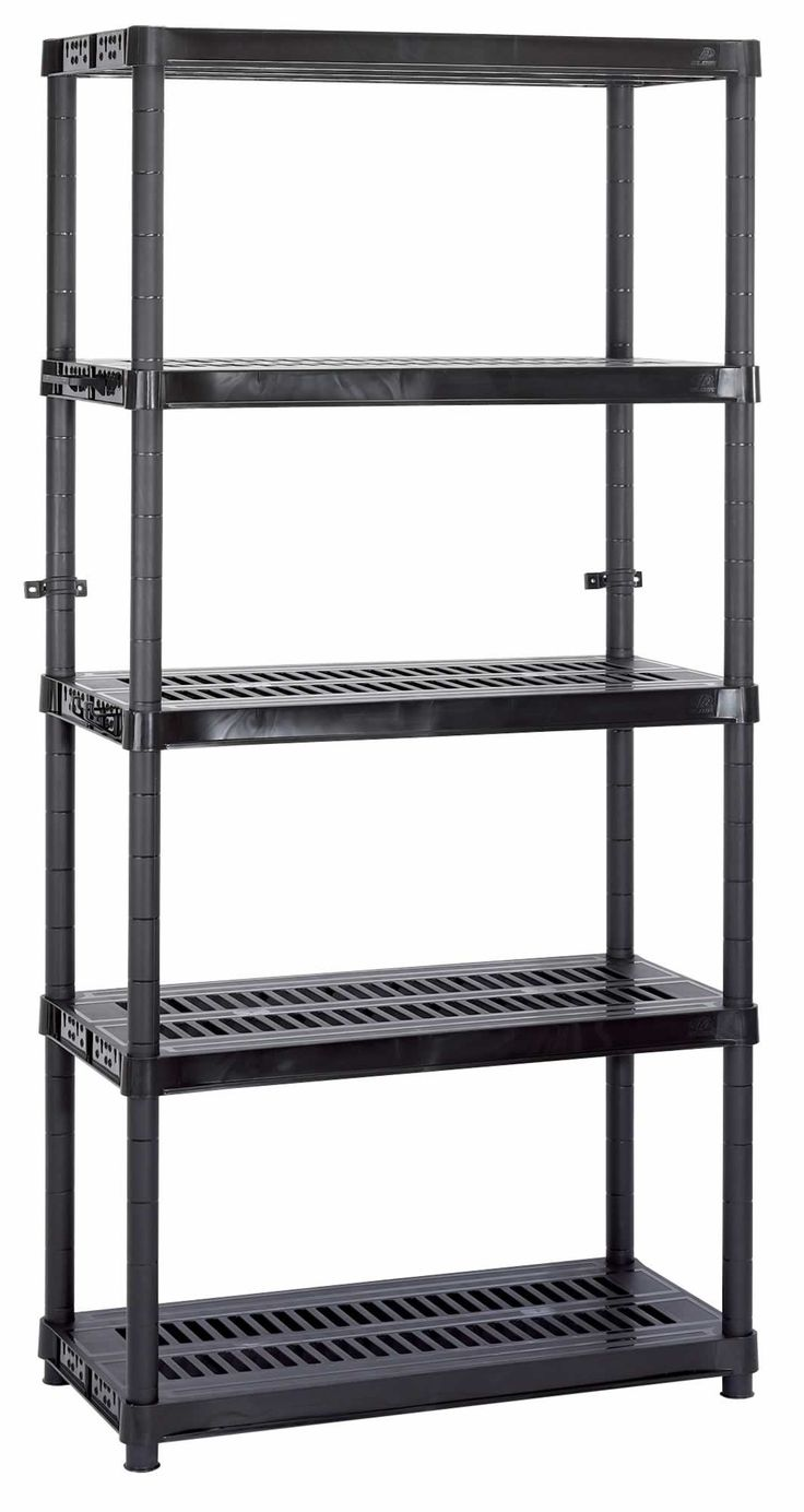 Cool Heavy Duty Plastic Shelving