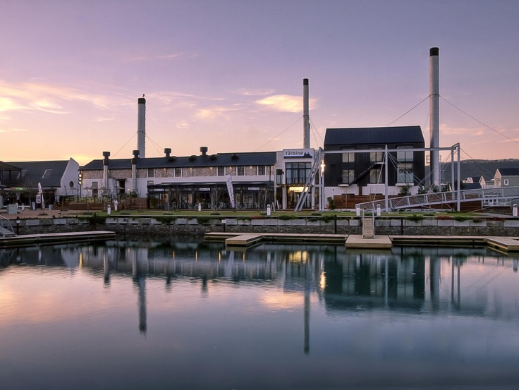 Knysna - The Turbine Boutique Hotel & Spa -   A converted power station stands on Thesen island in Knysna