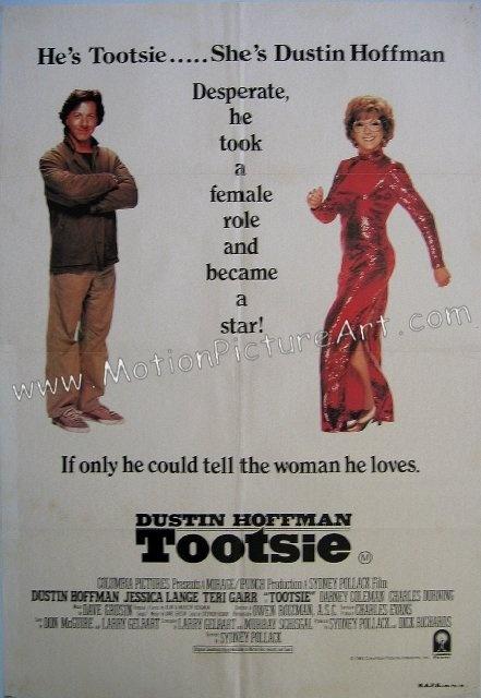 Tootsie 1983 the gender pretender.