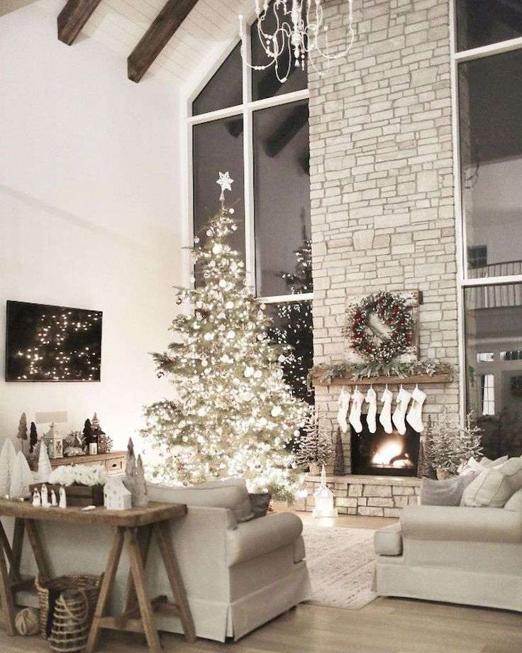 25+ unique Christmas living rooms ideas on Pinterest | Pictures of christmas  decorations, Christmas living room decor and Living room decor for christmas