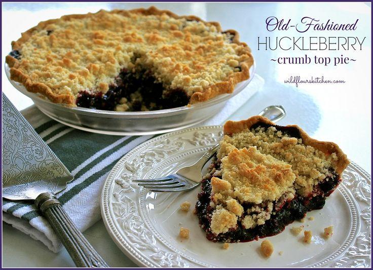 Old Fashion Huckleberry Pie