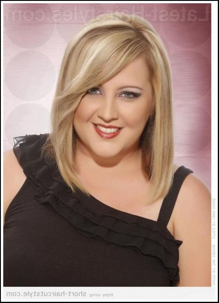 nice Short Hairstyles For Fat Faces And Double Chins