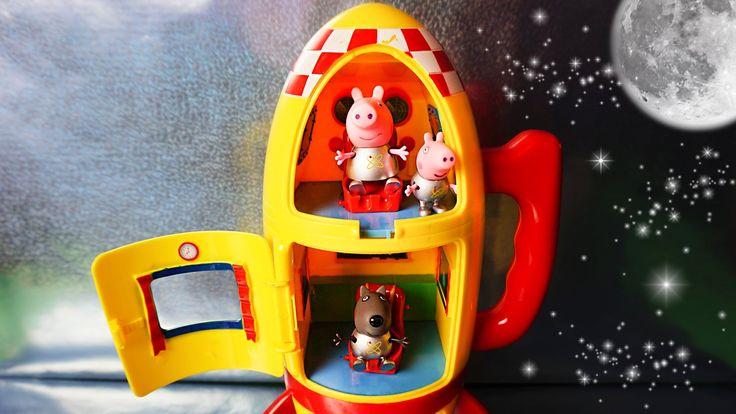 Свинка Пеппа космические приключения часть 1