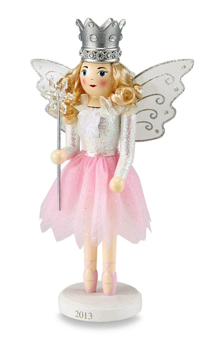 Essential Home Sugar Plum Fairy Ornament - Seasonal - Christmas - Villages & Collectibles