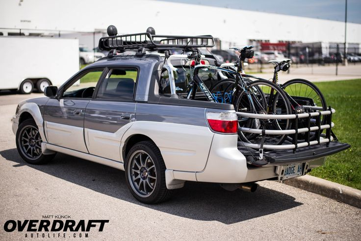 I know it's not an El Camino but just use it as reference for the fat bikes. - 2003 Subaru Baja