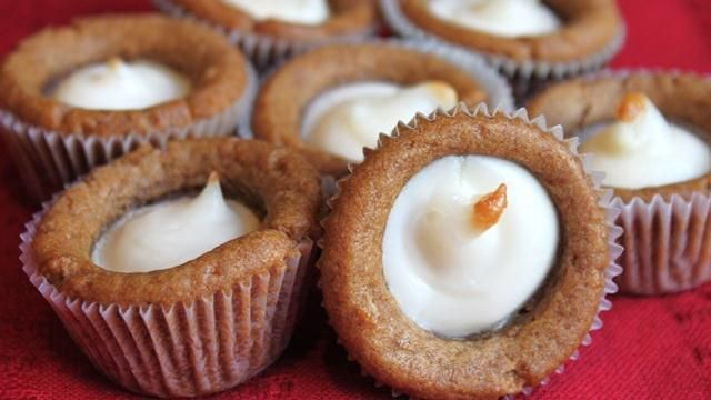 Gingerbread Cheesecake Bites - quick and easy recipe & combine two great flavors.