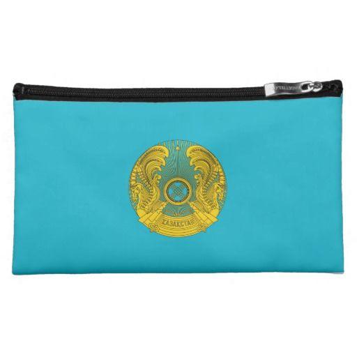 Kazakh coat of arms cosmetics bags