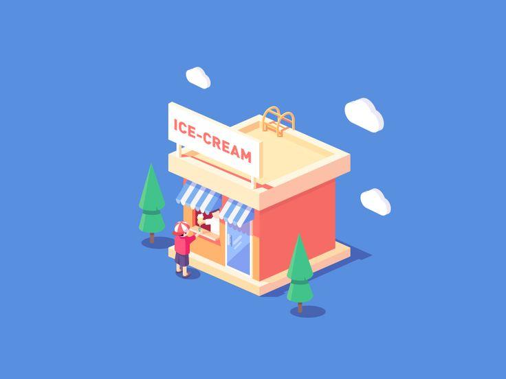 ice-cream shop