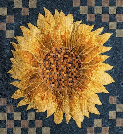 sunflower quilts | Join Jennifer with the Rouge Valley Quilters' Guild as they explore ...