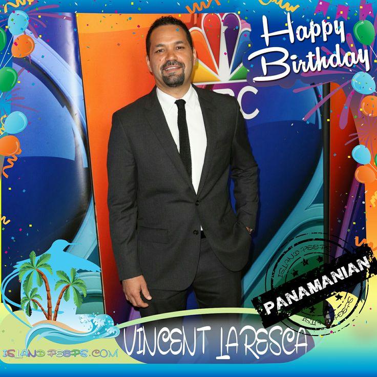 Happy Birthday Vincent Laresca!!! Actor born of Panamanian descent!!! Today we celebrate you!!! @VincentLaresca #VincentLaresca #islandpeeps #islandpeepsbirthdays #ShadesOfBlue #Juice  #Panama