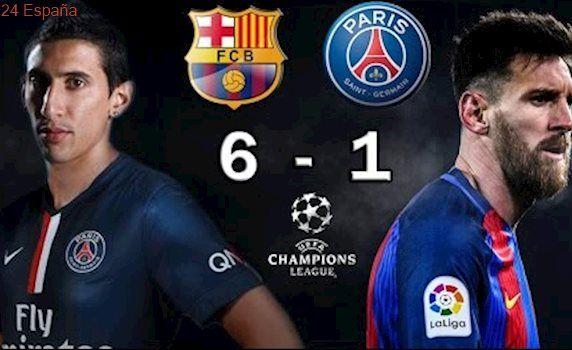 BARCELONA 6 vs PSG 1 - Champions League Octavos Final 2017 - VATICINIO 08/03/2017