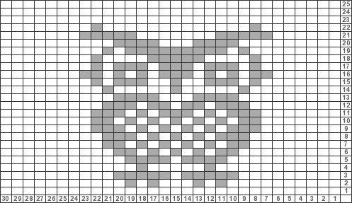 Tricksy Knitter Charts: Owl (78671) by rockyy