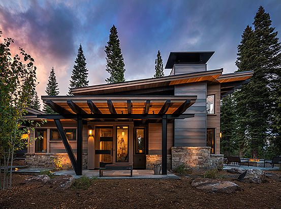 Timber And Glass Mountain Architecture   Google Search