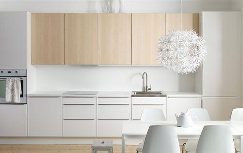 IKEA keuken - wit en minimalistisch | Interieur inrichting