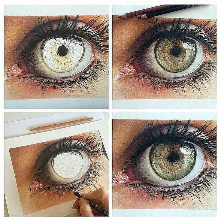 #Repost @artscloud  LOVE this  Artist @lenaart_nsk - #art #artist #artwork #eye #eyes #coloredpencils #tutorial #amazing #stunning #love
