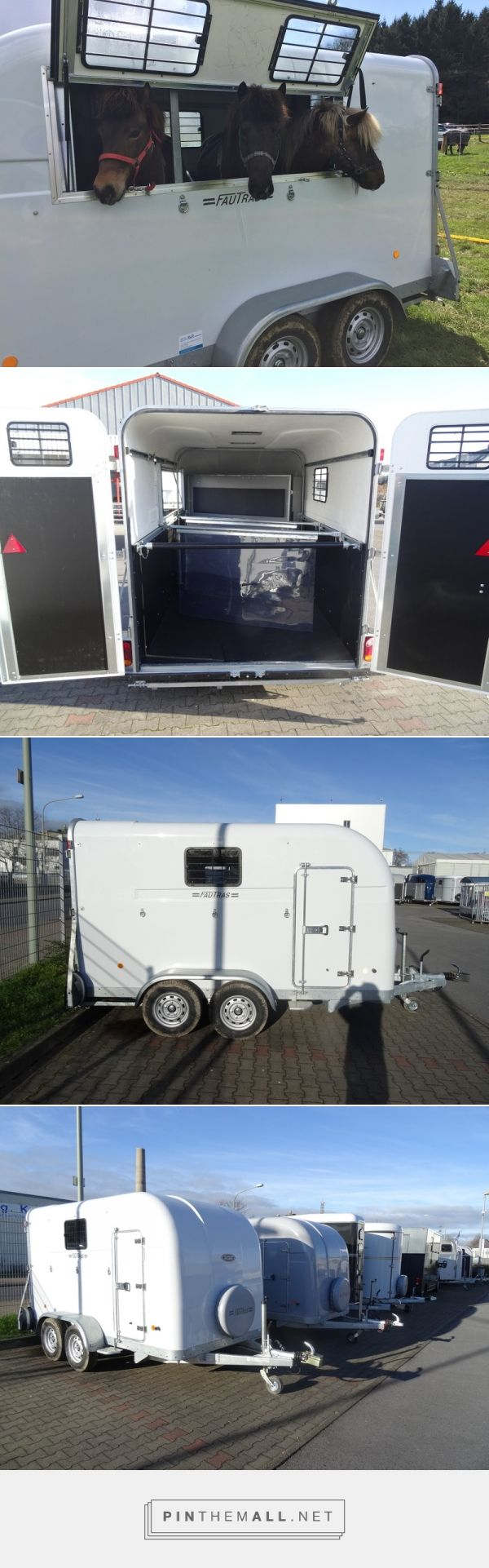 Fautras trailer adapted for transporting smaller ponies. - created via https://pinthemall.net