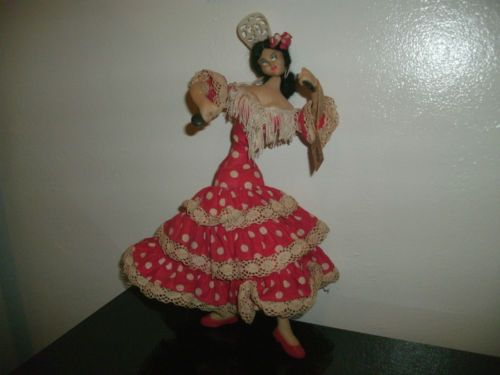 vintage-Layna-flaminco-dancer-doll-made-in-Spain