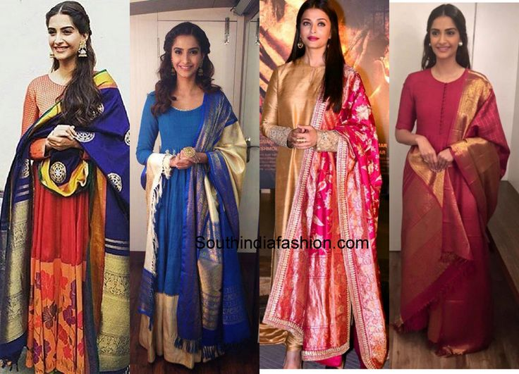 6 Wedding Outfits To Create By Recycling Old Sarees 2
