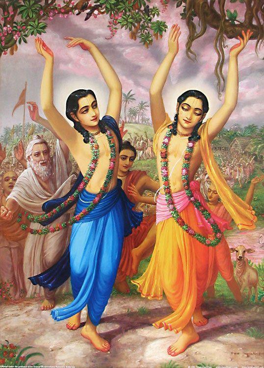 Chaitanya Mahaprabhu and Nityananda Prabhu