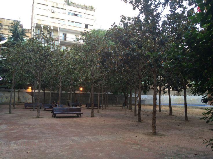 Public patio at Jardins de la Torre de Les Aigües