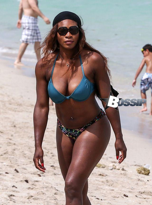 Tennis Champion Serena Williams Shows Off Her Curvy