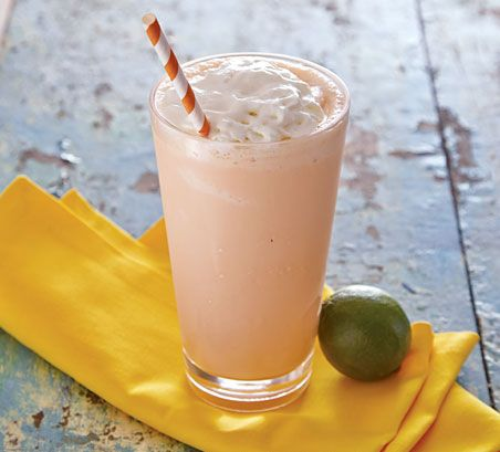 Thai Tea Milkshake Recipe via Cost Plus World Market >> #WorldMarket Beverages, Recipes, Drinks, Entertaining, Frozen Cocktail Recipes