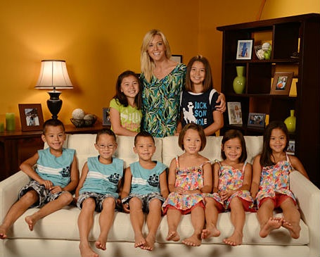 Kate gossilin and her eight kids