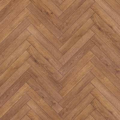 Herringbone laminate floors.  I want these!