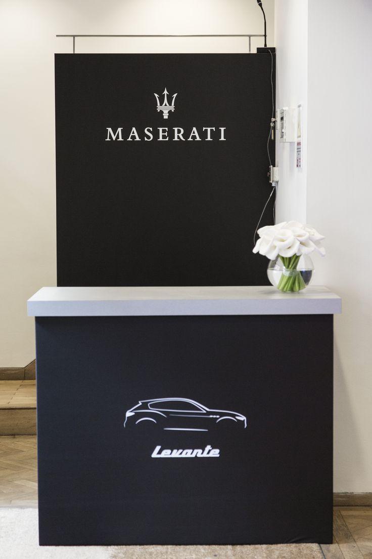 Maserati at Lindley Hall