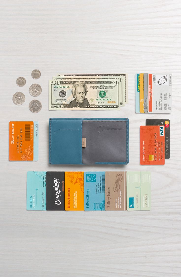 The beauty of the new Note Sleeve's design hides in the details … To ensure your essentials stay flat and streamlined,  we've shifted the most used card slots and coin pocket. Keeping your cash, coins and up to 11 cards secure in a slim silhouette.