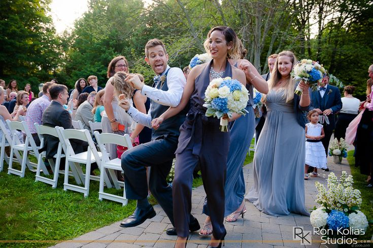 Real Wedding at Bill Miller's Castle in Branford Connecticut by Ron Kolias Photography | Sarah & Marybeth