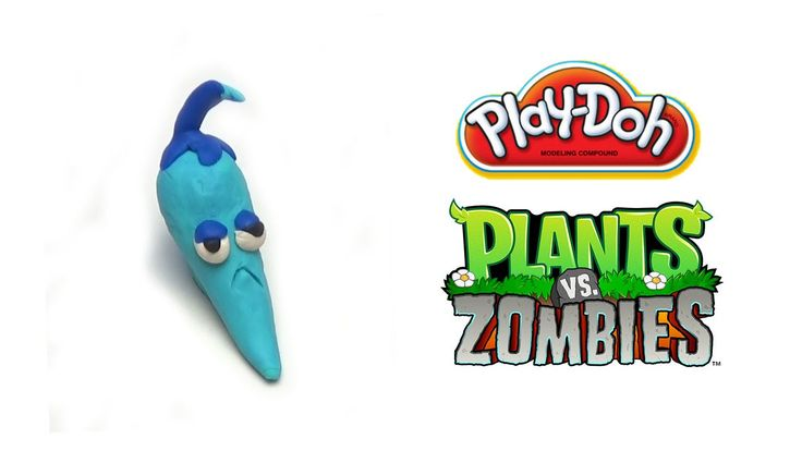 Play-Doh Plants vs Zombies Garden Warfare Chilly Pepper from Plants Vs. ...
