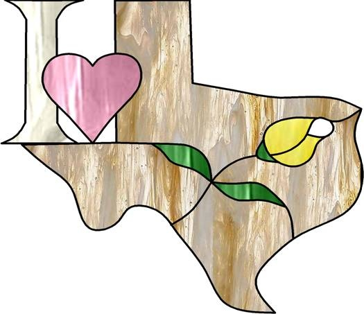I ♥ TX: Tx Ideas, Stained Glass