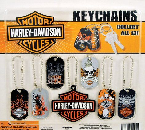 Harley Davidson Keychains Vending Capsules 250 ct