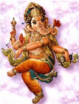 Dancing Ganesh.