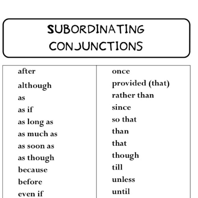 Subordinate Clause Lessons Tes Teach – Subordinate Clauses Worksheet
