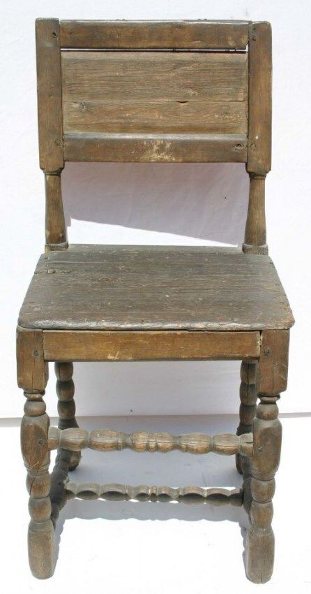 An american cromwell chair love the surface 17th century for Furniture 0 interest