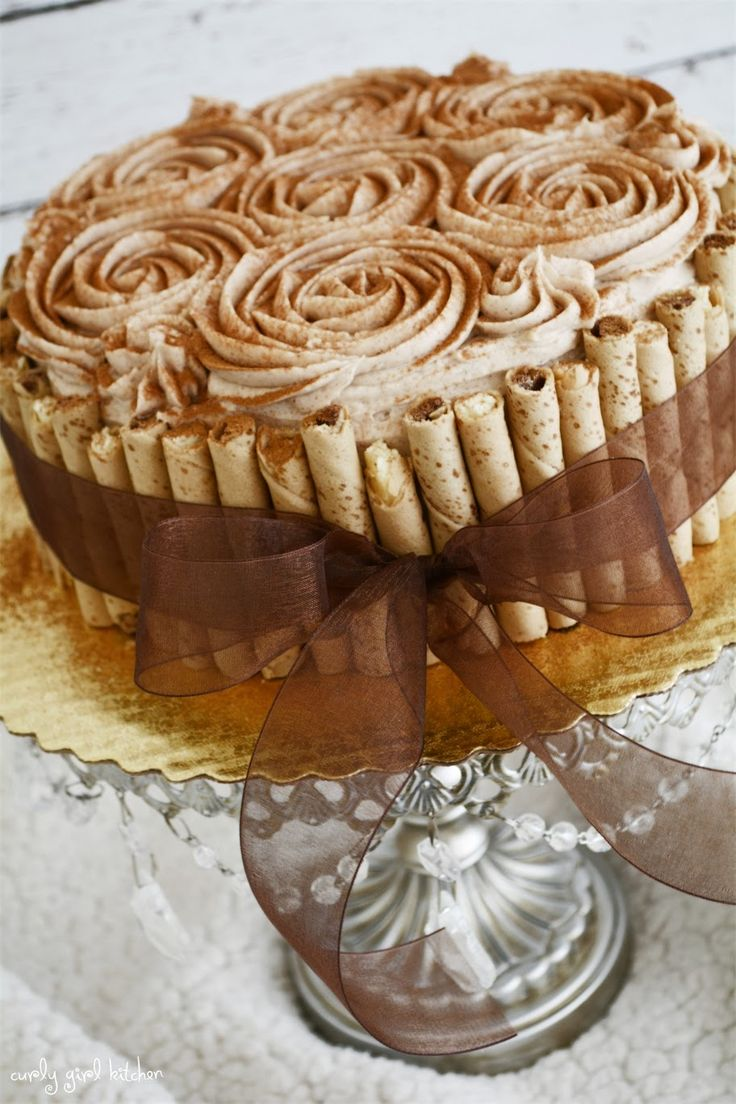 Curly Girl Kitchen: Snickerdoodle Cake