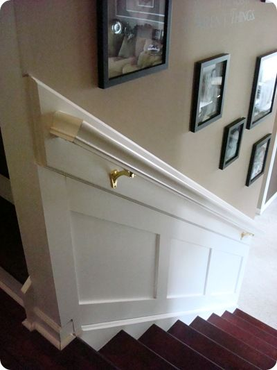 """Stairwell makeover - new item on Michael's """"to do"""" list :-)"""