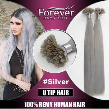 643 best forever remy hair images on pinterest html remy hair double drawn top quality human hair extension brazilian grey color remy hair extension wholesale pmusecretfo Gallery